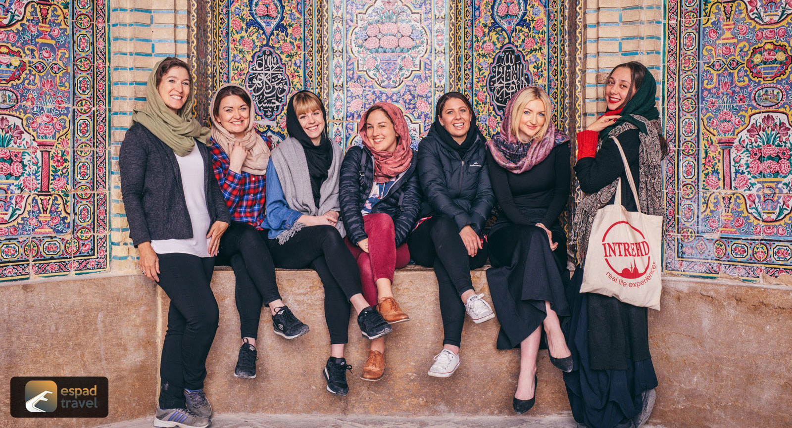 Happy Travelers in Iran