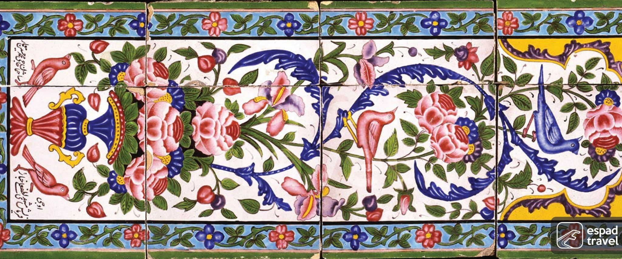 tile works in iran