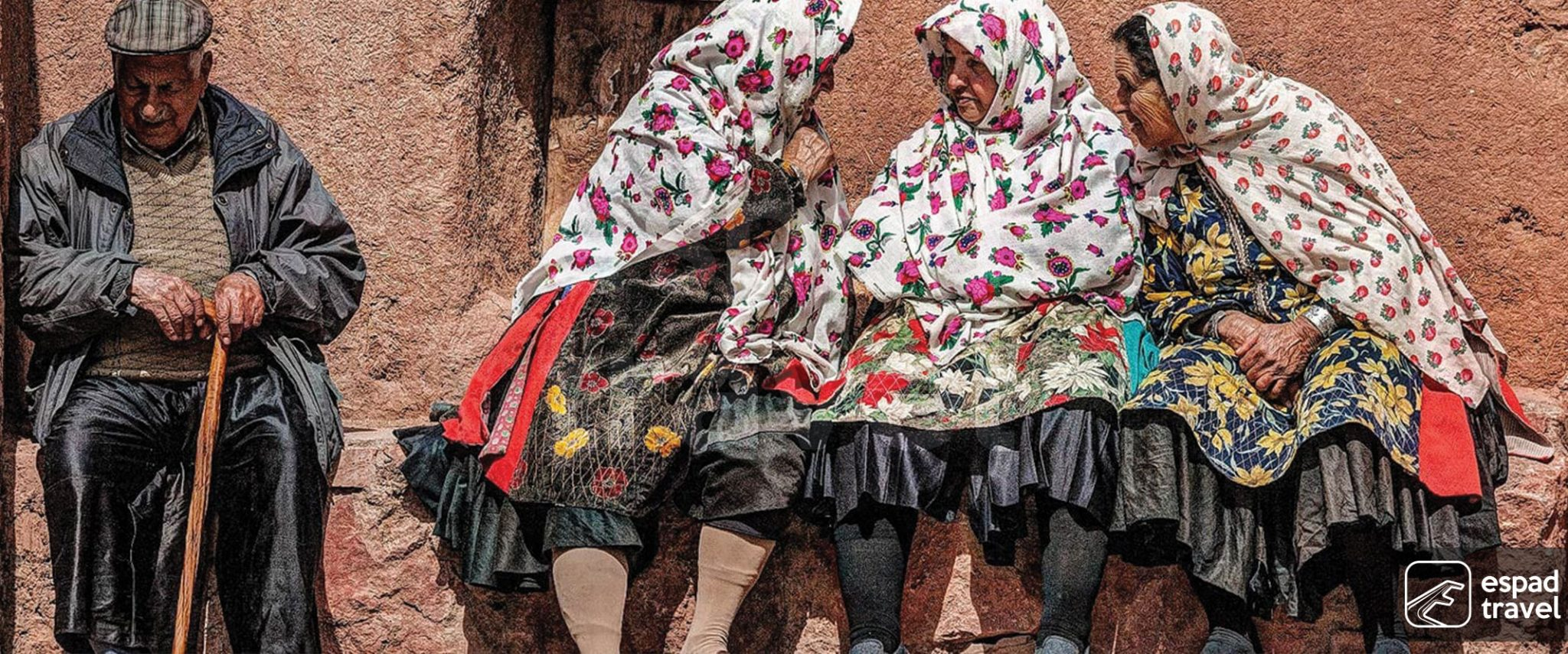 Abyaneh local costumes
