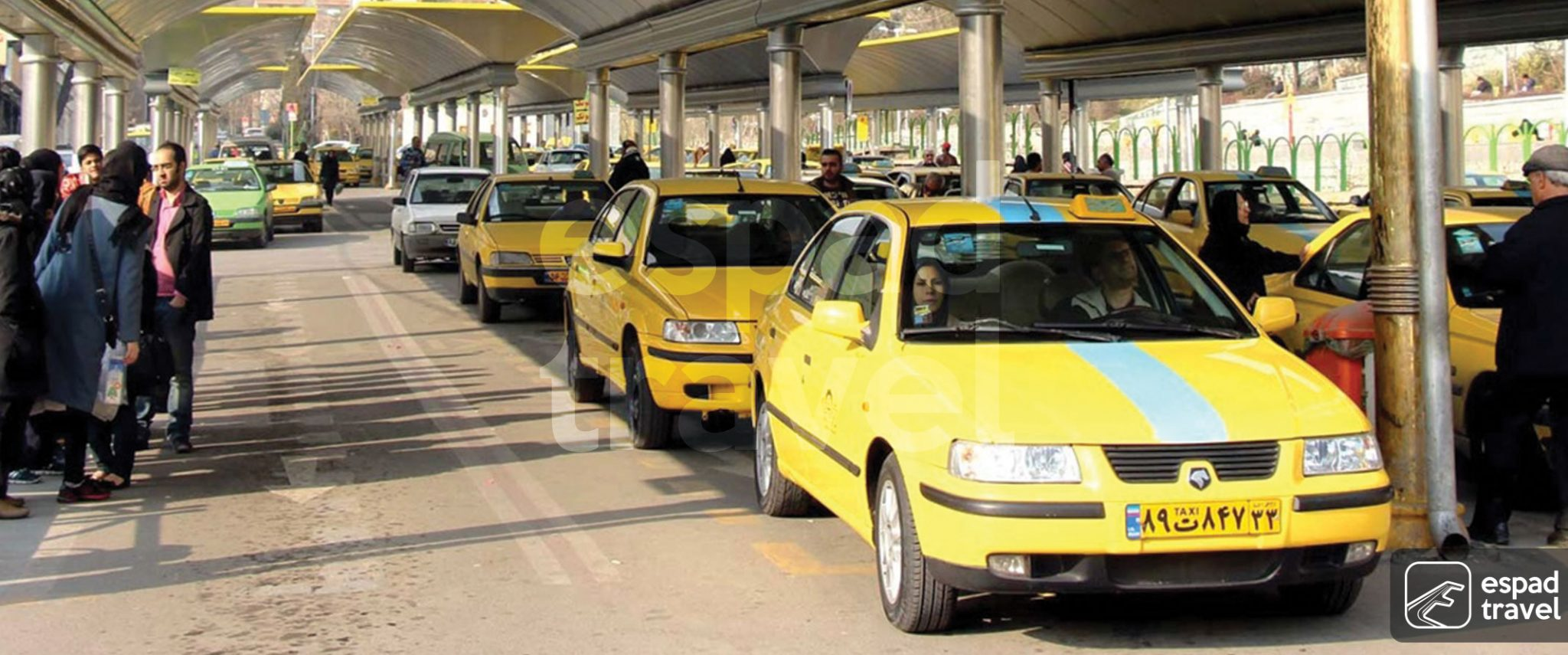 taxis in iran